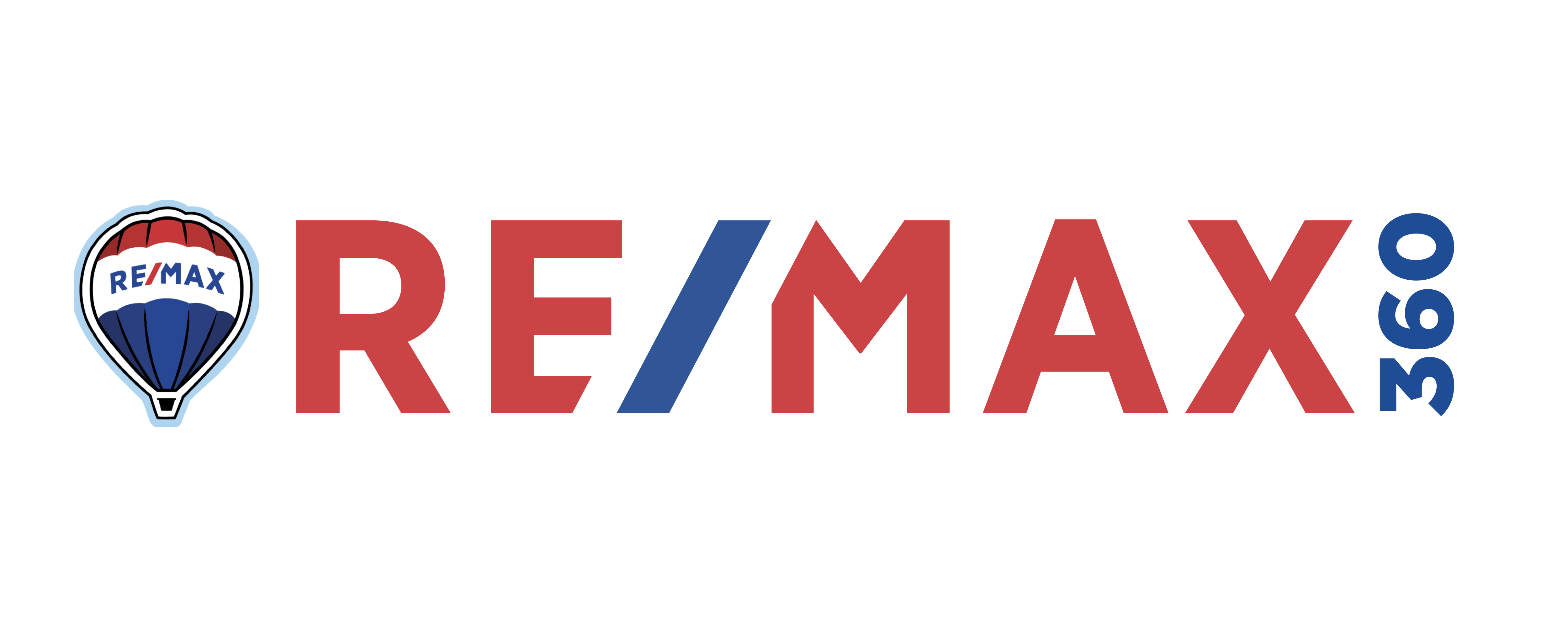 RE/MAX 360 balloon and word logo