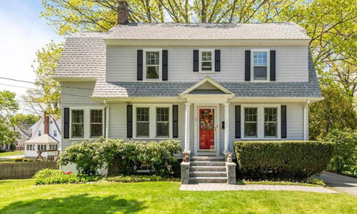 Detached Colonial sold in Belmont, MA