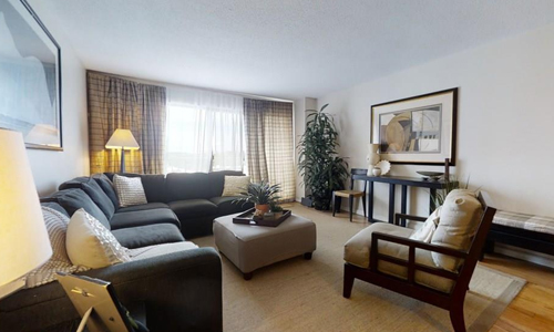1 bedroom high rise style condo for sale in Watertown, MA