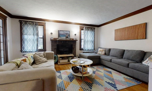 Four bedroom apartment for rent in Belmont, MA