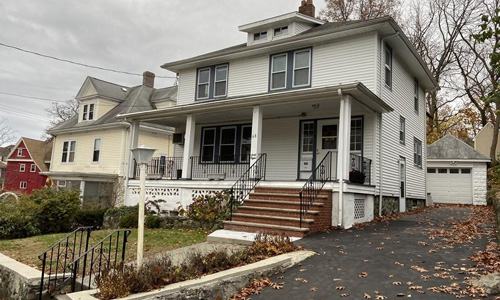 Four bedroom colonial for sale in Malden, MA