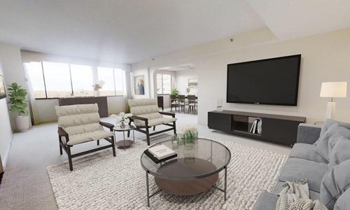 Three bedroom high rise condo for sale in Newton, MA