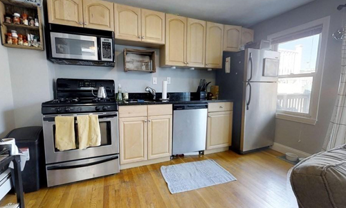 One bedroom penthouse condo for sale in Boston, MA on Telegraph Hill