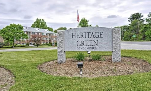 Heritage Green sign