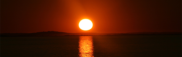 beautiful sunset, Nahant, MA