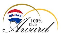 100% Club logo
