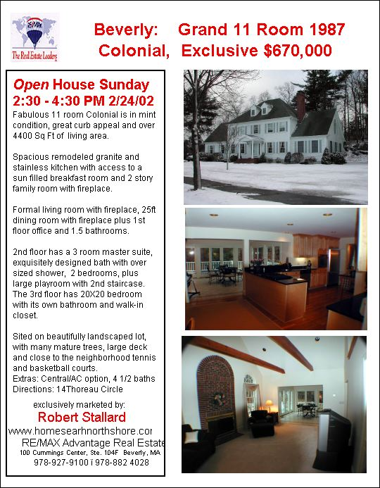Beverly, New to Market, 11 room Colonial  in great neighborhood, Exclusive $670,000