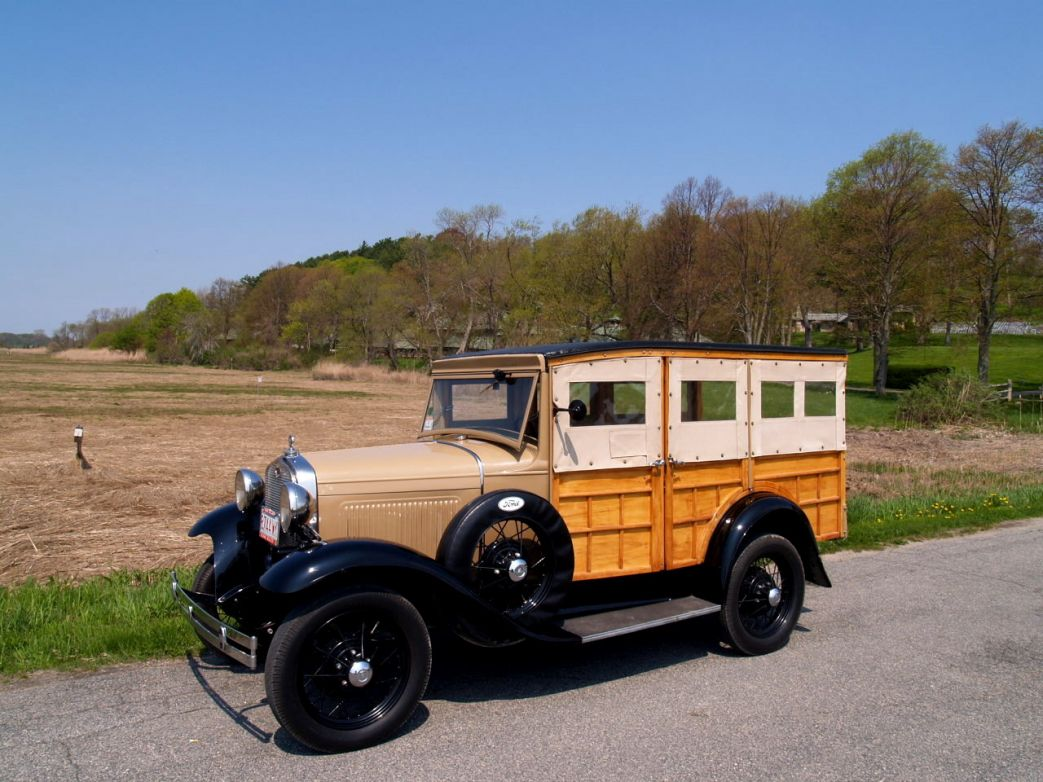 1931 model a station wagon (auto-resized from 1280x960)