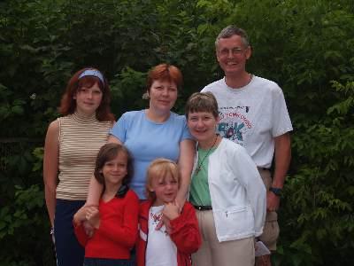 Ukraine family