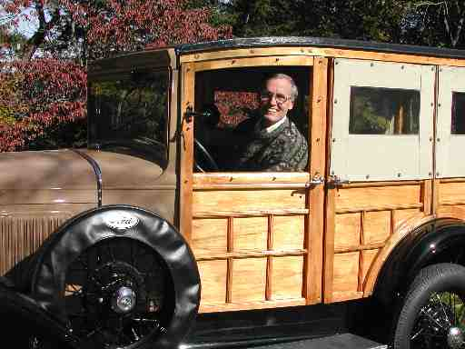 1931 Model A Ford Station Wagon