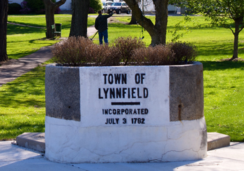 The town of Lynnfield waslynnfield town