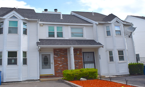 Coming soon for sale in Revere, MA - exterior of property shown