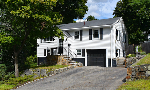Coming soon for sale in Melrose, MA - exterior of property shown