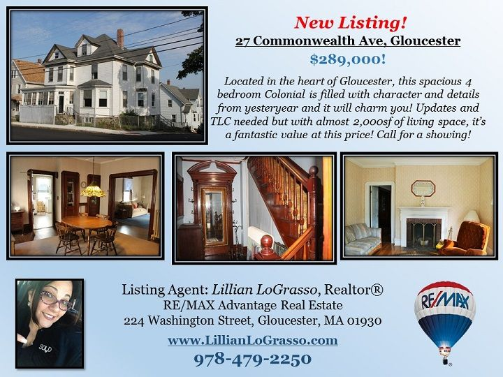27 Commonwealth Ave, Gloucester, MA