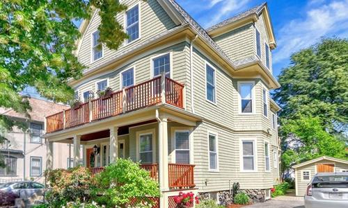 3 bedroom Condo sold in Arlington, MA - exterior of building shown