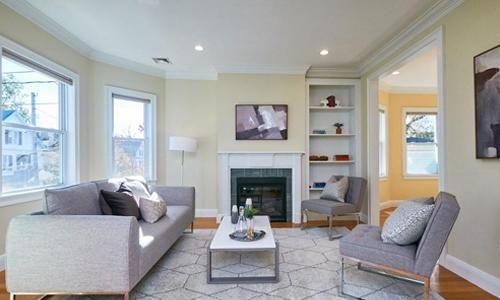Three bedroom condo for sale in Somerville, MA