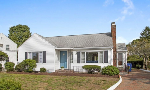 Detached White Ranch for sale in Wakefield, MA - exterior of property shown