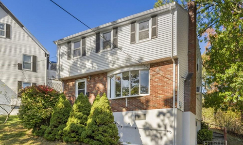 Three bedroom colonial for sale in Malden, MA - exterior of home shown