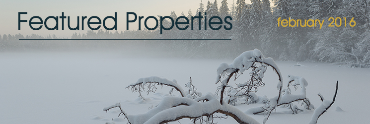 February 2016 Featured Listings