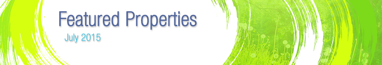 July 2015 Featured Listings