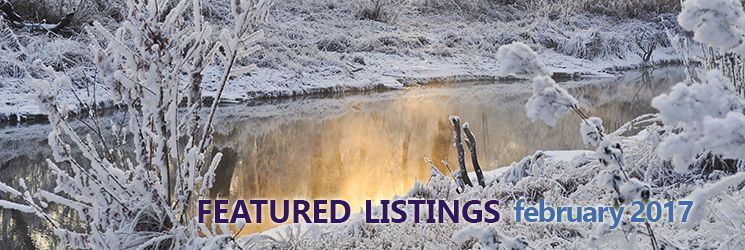February 2017 Featured Listings
