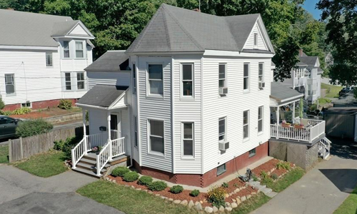3 bedroom Detached White Victorian for sale in Haverhill, MA - exterior of home shown