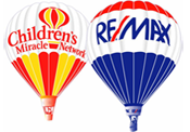 Our RE/MAX office fully supports the Children's Miracle Network.