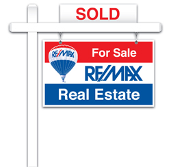 RE/MAX Agents will help you every step of the way through your sale.