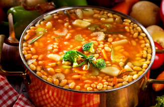 Pot of Bean Soup
