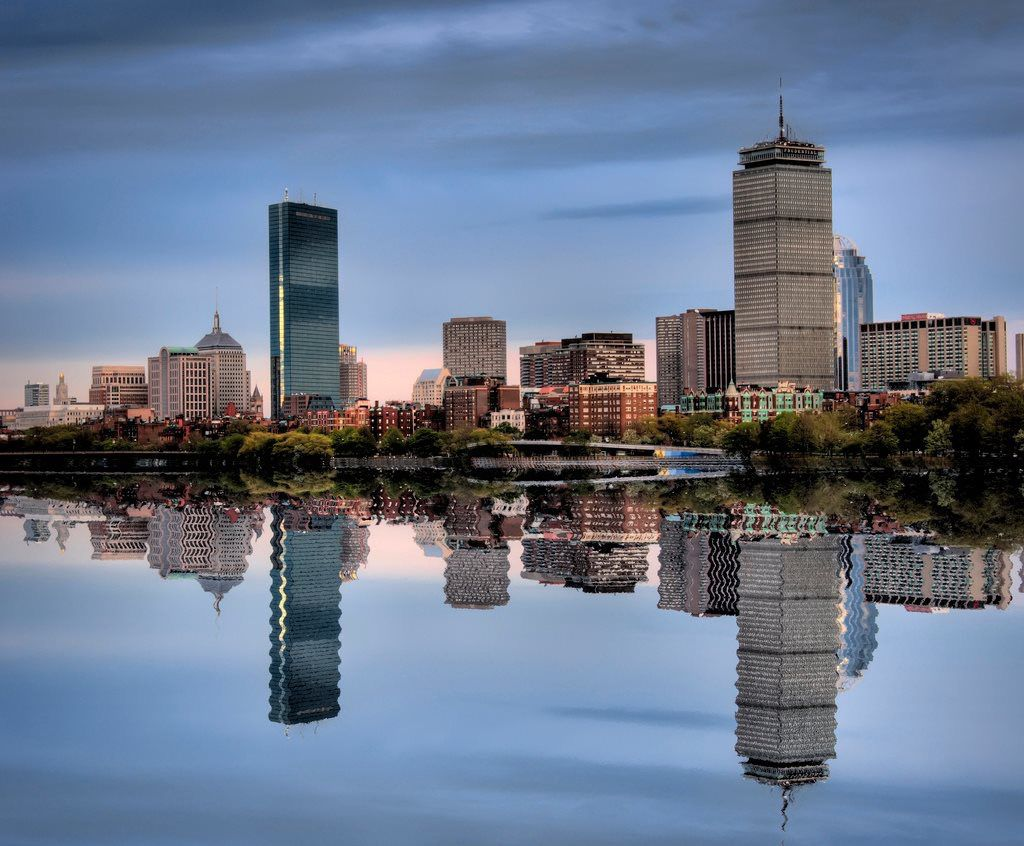 Boston Waterfront Skyline (auto-resized from 1024x846)