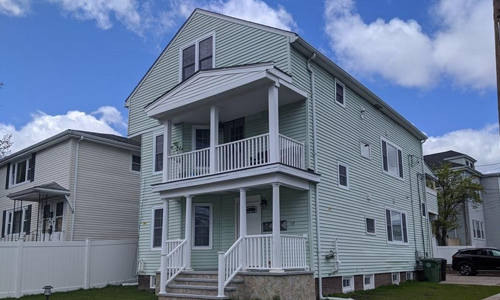 two bedroom apartment for rent in Watertown MA - exterior of property shown