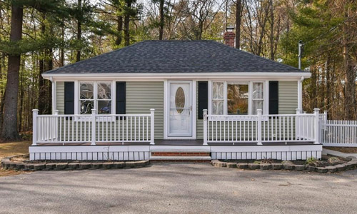 Detached Green Ranch, Bungalow for sale in Walpole