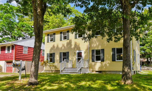 Detached Yellow Colonial for sale in Boston, MA