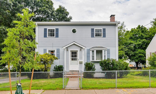 Four bedroom colonial for sale in Boston, MA