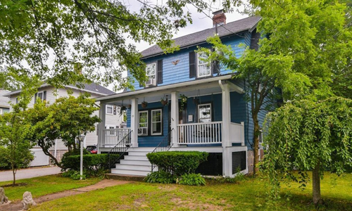 Three bedroom colonial for sale in Milton, MA