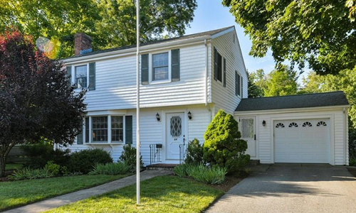 Three bedroom Colonial for sale in Dedham, MA