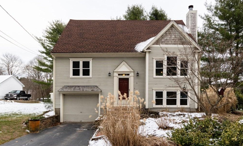 Three bedroom cape for sale in Mansfield, MA