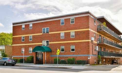 Two bedroom condo for sale in Boston, MA - exterior of building shown