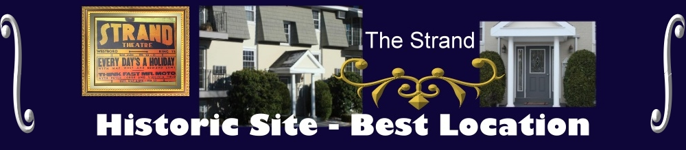 The Strand Condos in Westboro Ma one bedroom condos in Westborough Ma Located on 13 Summer st