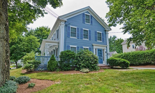 3 Family home for sale in Westborough, MA - exterior of home shown