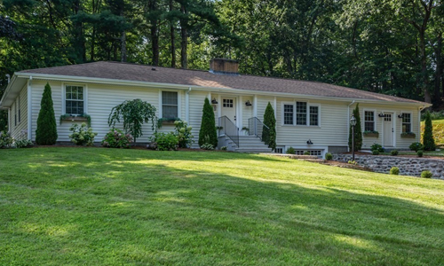 Three bedroom detached yellow for sale in Westborough, MA