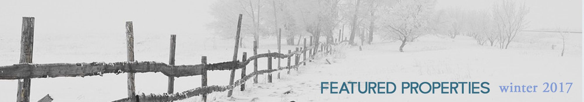 Featured Properties Winter 2017