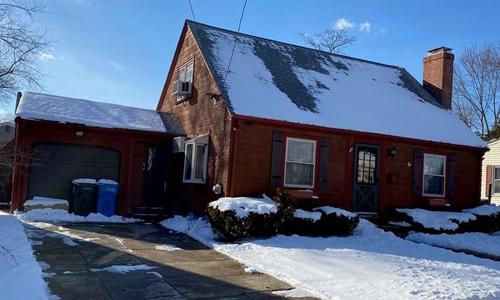 3 bedroom Cape Cod style home for sale in Cranston RI