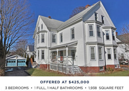 Featured Home for Sale - 156 Trenton Street, Melrose MA - The Kim Perrotti Team