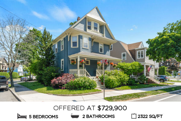 Featured Home for Sale - 15 Howard Street, Melrose  MA