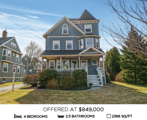 Featured Home for Sale - 217 Porter Street, Melrose MA