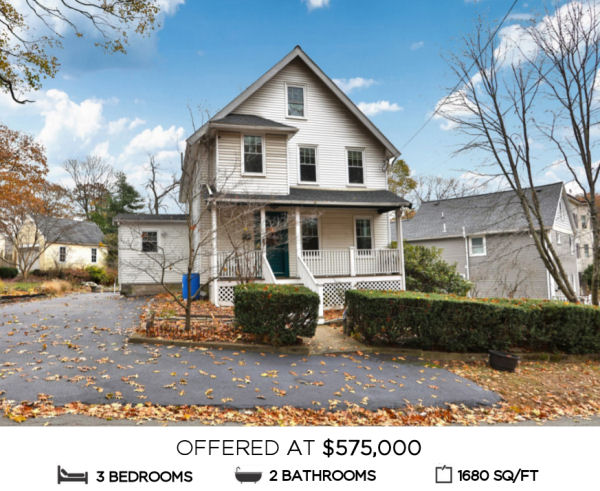 Featured Home for Sale - 22 Hopkins Street, Melrose MA