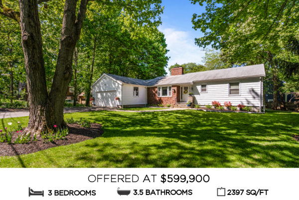 Featured Home for Sale - 23 Douglas Road, Lynnfield MA