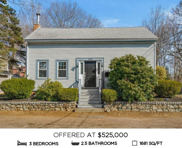 Featured Home for Sale - 330 Haven Street, Reading MA