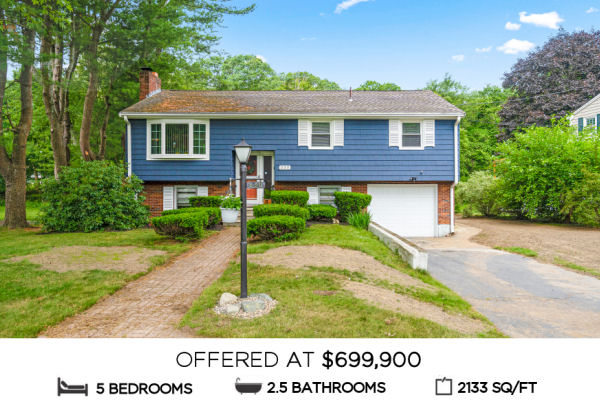 Featured Home for Sale - 330 Swains Pond Ave, Melrose  MA